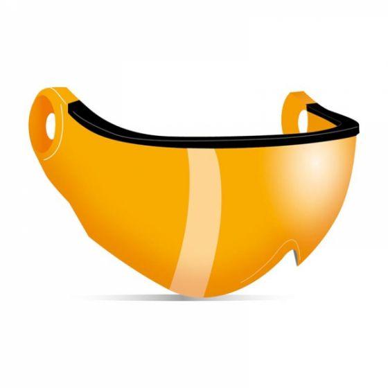 Kask, Piuma R Double Lens Visors Visier orange