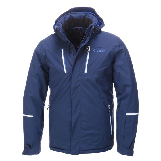 Maier, Lupus, Ski jas Heren, Middeleeuws Blauw (Ski kleding heren)
