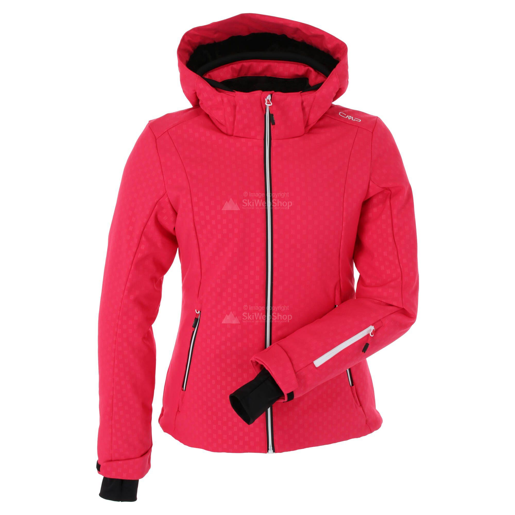 CMP, Softshell jacket zip hood, Softshell Skijacke, Damen