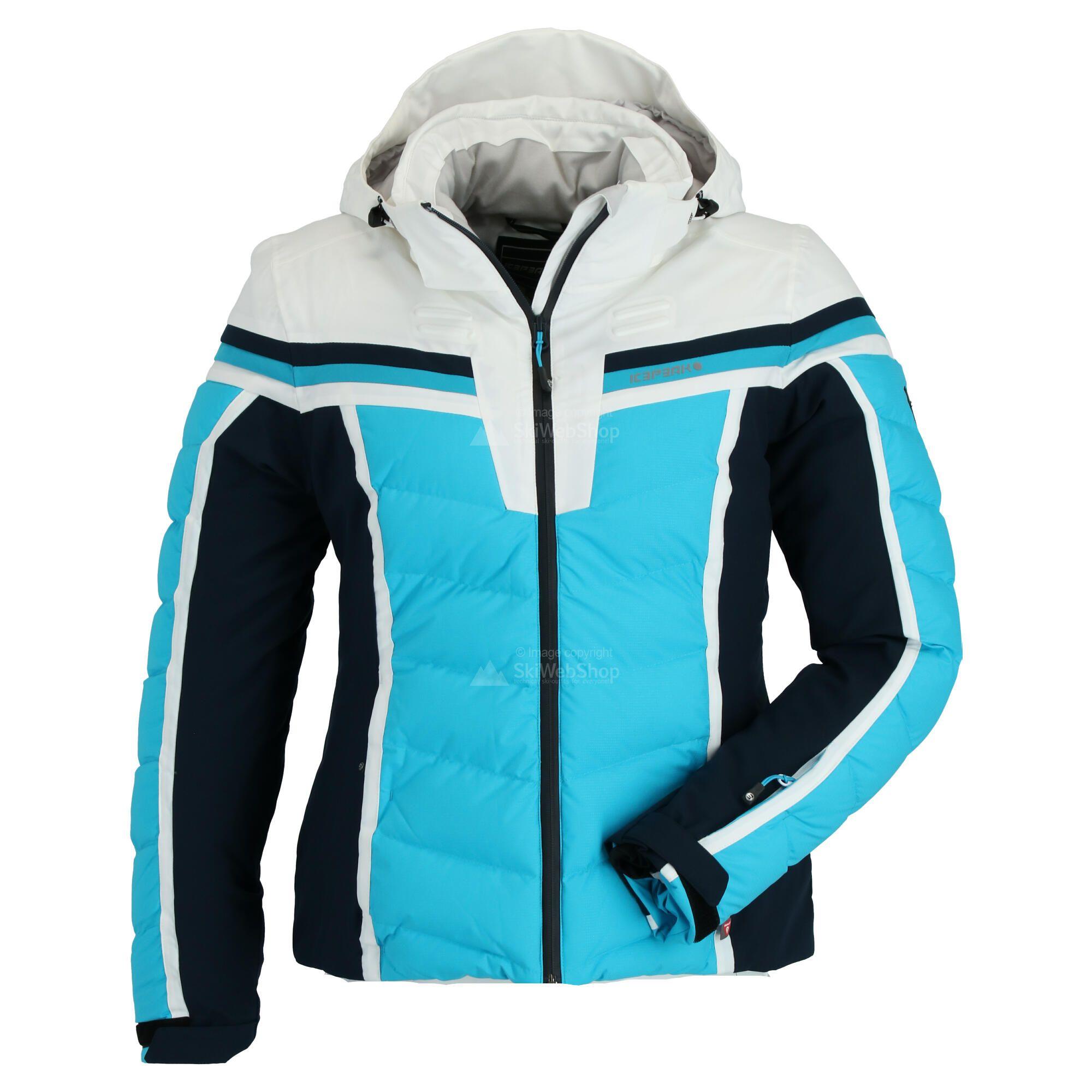 Icepeak, Flora, Skijacke, Damen, turquoise blau