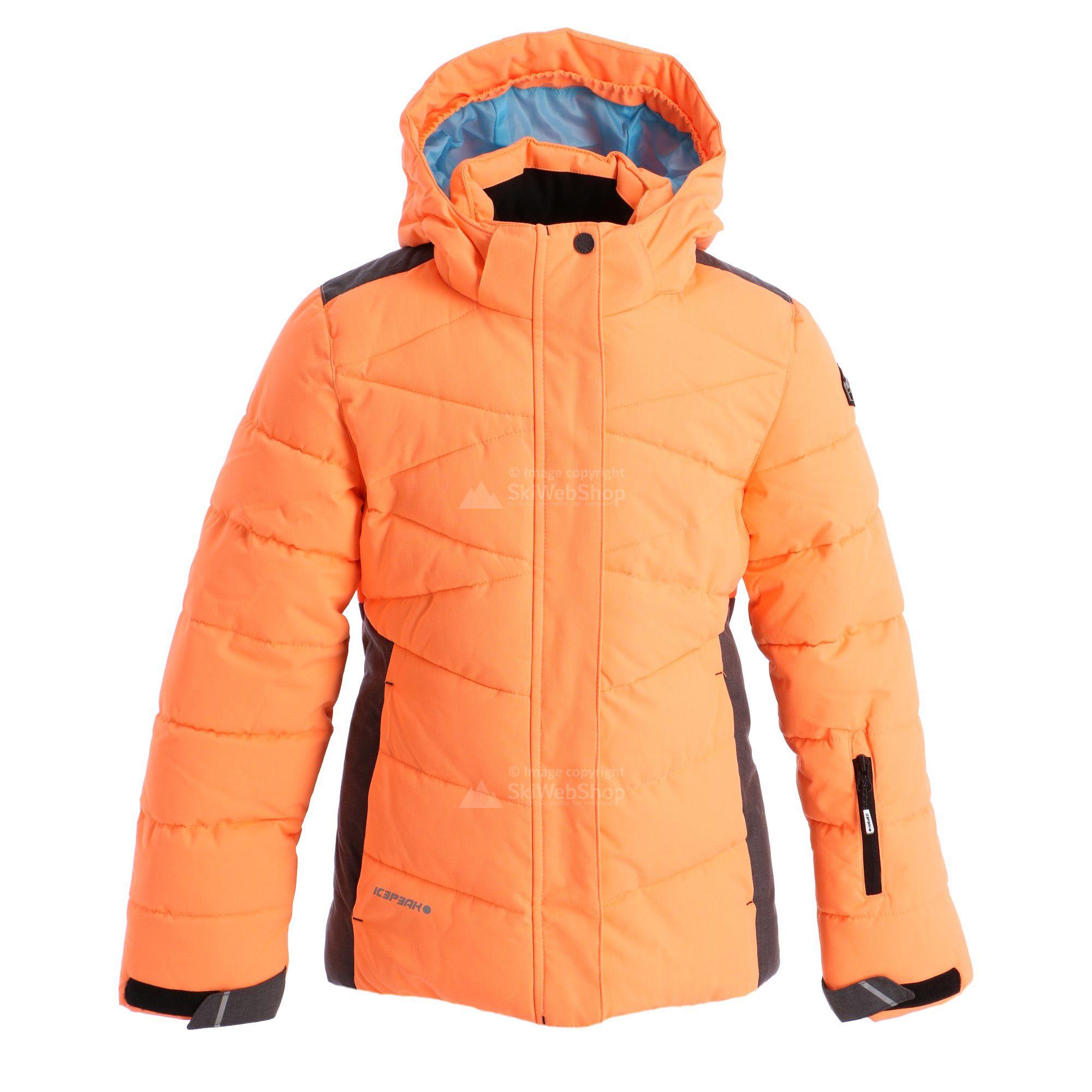 icepeak jacke orange kinder