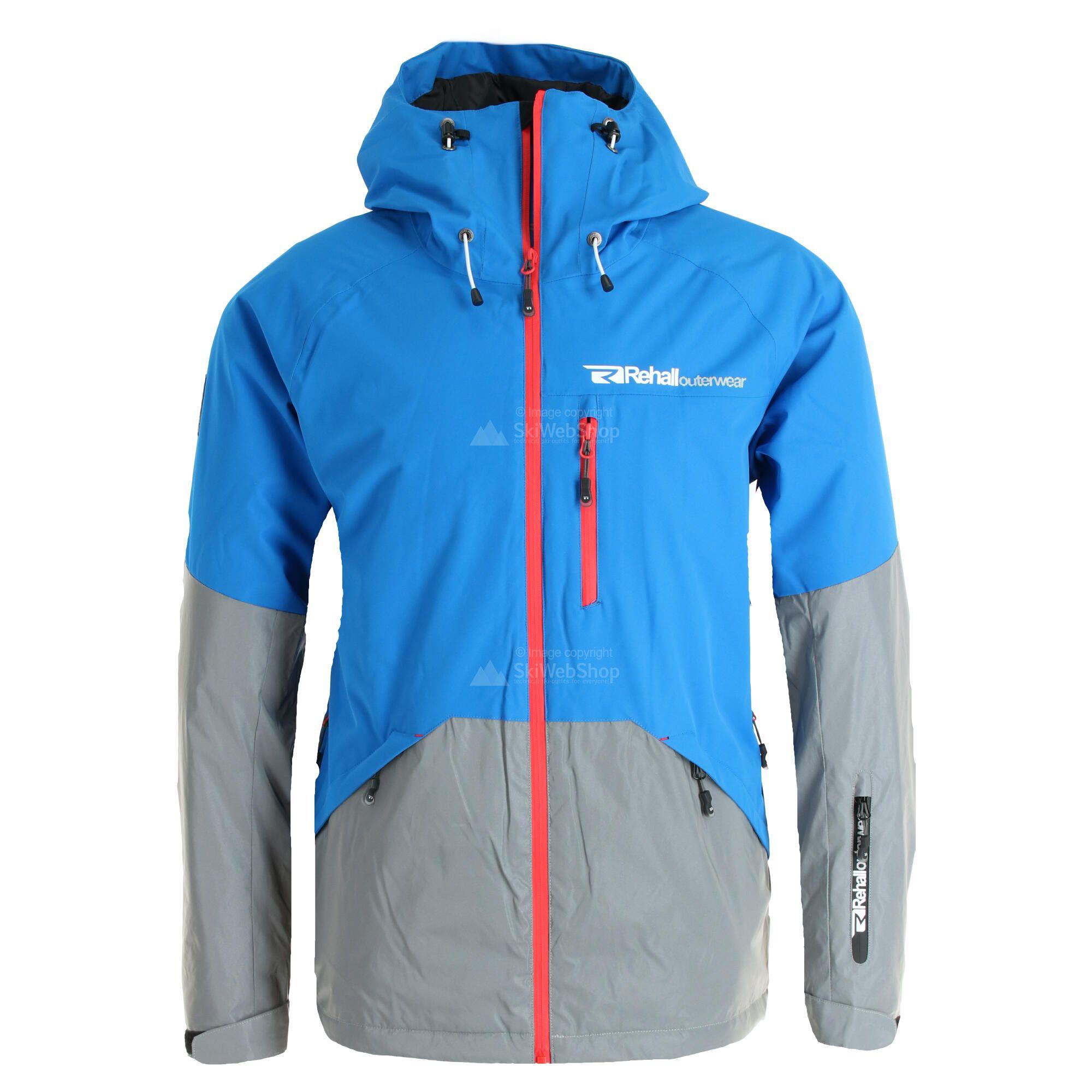 Rehall, Aspen, Skijacke, Herren, reflex blau